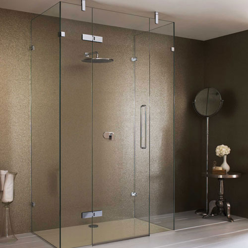 frameless showerdoor