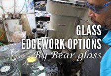 Glass Edgework Options