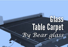 Glass Table Carpets