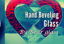 Hand Beveled Glass