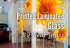 Printed Laminated Glass