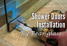 Shower Doors Installation