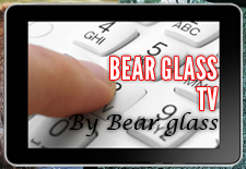 Bear Glass TV
