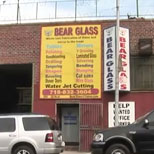 bear glass video