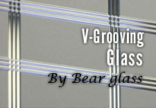 Glass VGrooving